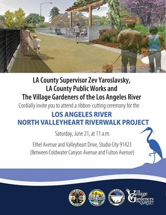 Valleyheart Riverwalk Project; Breaking Ground